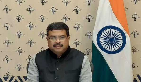 Pradhan appeals scientific community to create competitive advantage for India
